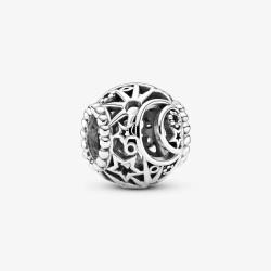 Pandora 799183C00 Charm Damen Sonne Mond & Sterne Silber