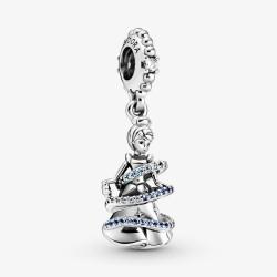 Pandora Disney 799201C01 Charm-Anhänger Cinderella Magischer Moment Silber