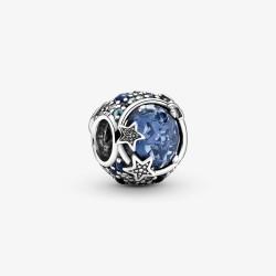 Pandora 799209C01 Charm Himlische Blaue Funkelnde Sterne Silber