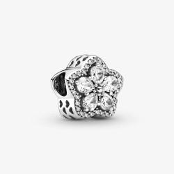 Pandora 799224C01 Pavé-Charm Funkelnde Schneeflocke Silber