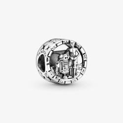 Pandora Star Wars 799245C00 Charm Damen C-3PO und R2-D2 Sterling-Silber