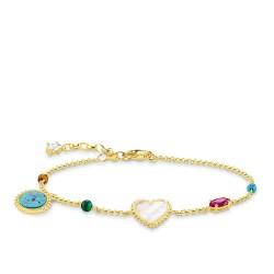 Thomas Sabo A1764-490-7 Armband Damen Riviera Colours Gold