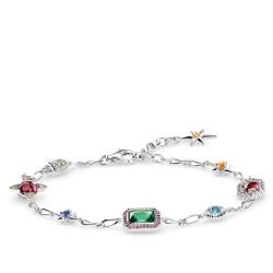 Thomas Sabo A1914-348-7 Armband Damen Glücksbringer Silber