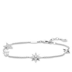 Thomas Sabo A1916-051-14 Armband Damen Sterne Sterling-Silber