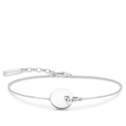 Thomas Sabo A1934-637-21 Armband Damen Together Coin mit Ring Silber