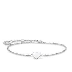 Thomas Sabo A1991-001-21-L19v Armband Damen Herz mit Kugeln Silber