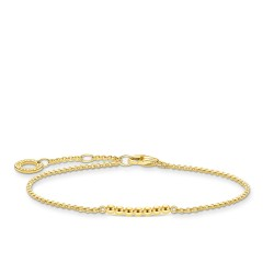 Thomas Sabo A2001-413-39 Armband Damen Kugeln Sterling-Silber Vergoldet