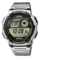 Casio AE-1000WD-1AVEF Herren-Uhr Collection Quarz Edelstahl-Armband
