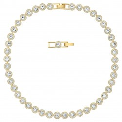 Swarovski 5505468 Halskette Damen Angelic Weiss Vergoldet