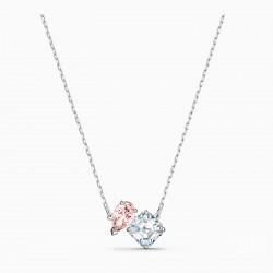 Swarovski 5517115 Halskette mit Anhänger Damen Attract Soul Rosa Silber-Ton