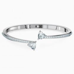 Swarovksi 5518814 Armband Armreif Damen Attract Soul Heart Weiss Silber-Ton