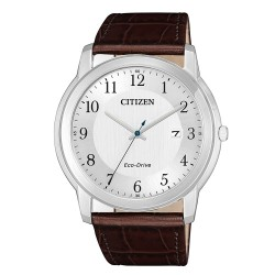 Citizen AW1211-12A Eco-Drive Sports Herren-Uhr Analog Quarz mit Leder-Band