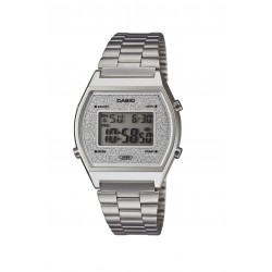 Casio B640WDG-7EF Damen-Uhr Vintage Edgy Quarz Edelstahl-Armband