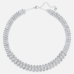 Swarovski 5117678 Halskette Collier Damen Baron Blau Silber-Ton