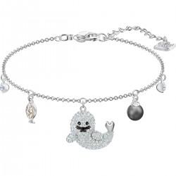Swarovski 5491553 Armband Damen Polar Mehrfarbig Silber-Ton