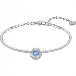 Swarovski 5515385 Armreif Damen Sparkling Dance Blau Silber-Ton
