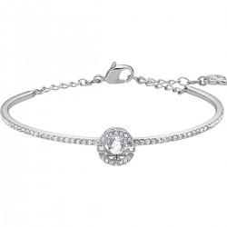 Swarovski 5497478 Armband Armreif Damen Sparkling Dance Weiss Silber-Ton