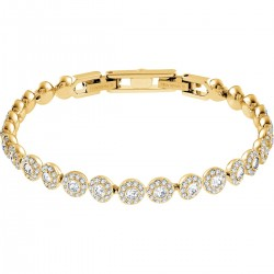 Swarovski 5505469 Armband Damen Angelic Weiss Gold-Ton