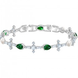 Swarovski 5493102 Armband Damen Perfection Grün Silber-Ton