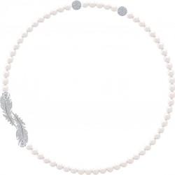 Swarovski 5493403 Kette Damen Nice Weiss Silber-Ton
