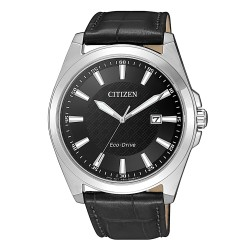 Citizen BM7108-14E Eco-Drive Sports Herren-Uhr Analog Quarz mit Leder-Band