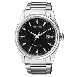 Citizen BM7360-82E Eco-Drive Herren-Uhr Super Titanium Analog Quarz