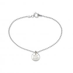 Beka & Bell Armband Soli Damen Brautjungfer Sterling-Silber
