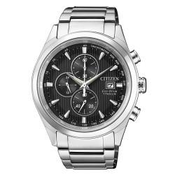 Citizen CA0650-82F Eco-Drive Herren-Uhr Super Titanium Chronograph Quarz