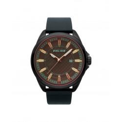Police PL15408JSU.61 Herren-Uhr Checkmate Analog Quarz mit Leder-Armband