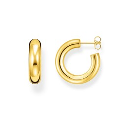 Thomas Sabo CR635-413-39 Ohrringe Creolen Classic Klein Gold-Ton Silber
