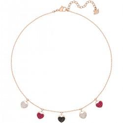 Swarovski 5472449 Choker Kette Halsband Ginger Herz Rosé Vergoldung