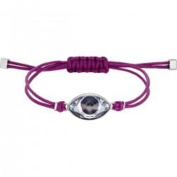 Swarovski 5508534 Armband Damen Power Collection Evil Eye Violett Silber-Ton