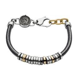 Diesel DX1185040 Armband Herren Stackables Nylon/Edelstahl