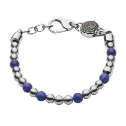 Diesel DX1196040 Armband Herren Beads aus Edelstahl/Sodalith