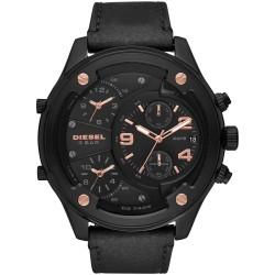 Diesel DZ7428 Herren-Uhr Boltdown Chronograph Quarz mit Leder-Armband Ø 56 mm