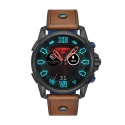 Diesel ON DZT2009 Smartwatch Herren Full Guard 2.5 mit Leder-Band