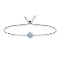 Engelsrufer ERB-LILGEM-AQ Armband Aquamarin Silber