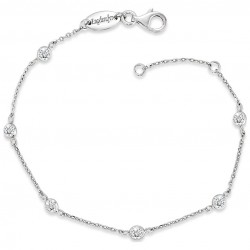 Engelsrufer ERB-LILMOON-ZI Armband Damen Moonlight Zirkonia Silber