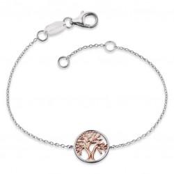 Engelsrufer ERB-LILTREE-BICOR Armband Lebensbaum 17,5 cm