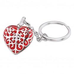 Engelsrufer ERK-05-HEART Schlüssel-Anhänger Herz Rot