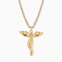 Engelsrufer ERN-LILANGEL-G Halskette-Anhänger Schutzengel Silber Vergoldet