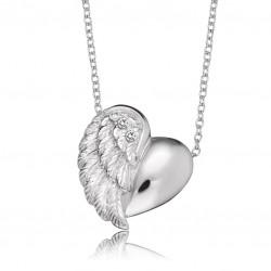 Engelsrufer ERN-LILHEARTWING-S Kette Herzflügel Silber