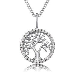 Engelsrufer ERN-LILTREE-ZI Kette mit Anhänger Lebensbaum Silber