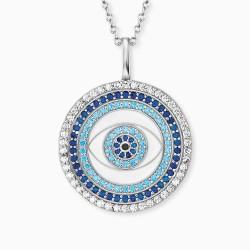 Engelsrufer ERN-EYE-ZIM Halskette-Anhänger Lucky Eye Silber Zirkonia Weiss