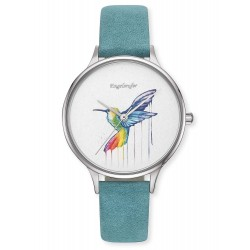 Engelsrufer ERWA-COLIBRI-NTQ1-MS Damenuhr Paradise Kolibri Quarz Blau