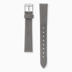 Engeslrufer ERWAB-14-NGY1-S Uhren-Armband Nubukleder Grau 14 mm