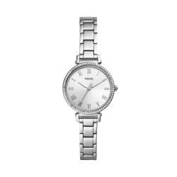 Fossil ES4448 Damen-Uhr Kinsey Analog Quarz mit Edelstahl-Armband Ø 28 mm