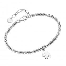 Karat 92018893190 Armband Damen Kleeblatt Sterling-Silber