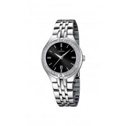 Festina F16867/2 Damen-Uhr Trend Mademoiselle Silber-Ton Ø 33 mm
