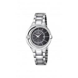 Festina F16947/2 Damen-Uhr Trend Mademoiselle Silber-Ton Ø 33 mm
